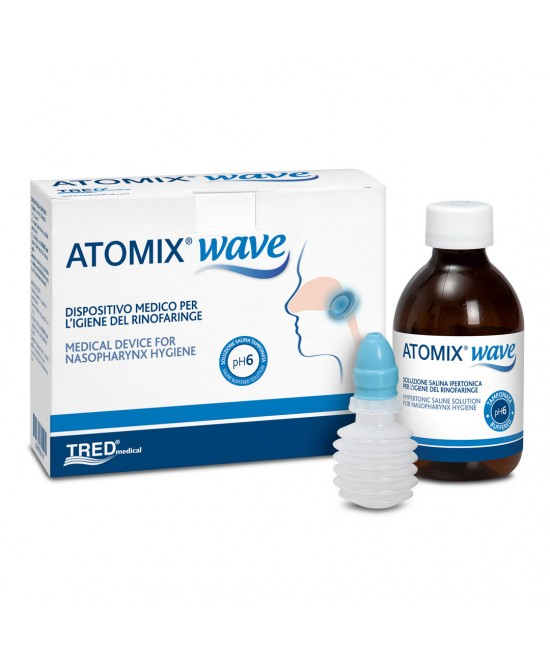 Tred Atomix Wave Dispositivo Per Igiene Rinofaringea 250ml - Zfarmacia