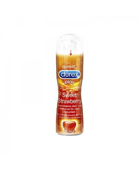 Durex Play Gel Sweet Strawberry Lubrificante 50ml - Zfarmacia