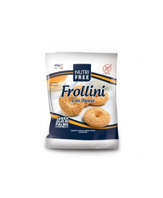 NutriFree Frollini Con Panna Senza Glutine Monoporzione 40g