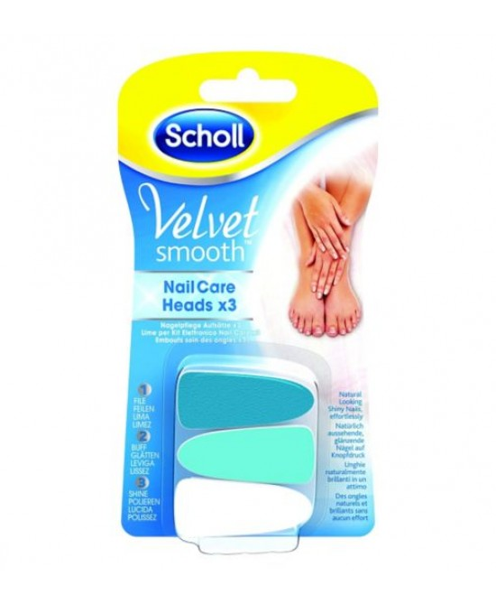 Scholl Velvet Smooth Nail Care Lime Di Ricambio - Farmapc.it