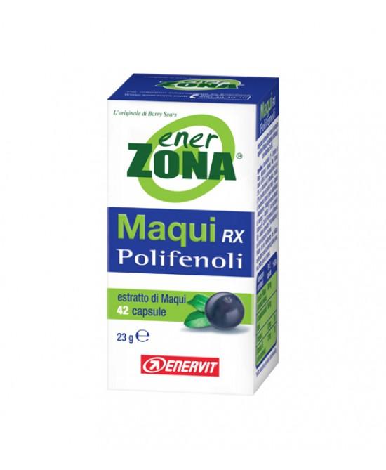 EnerZona Enervit Maqui Rx Polifenoli Integratore Alimentare 42 Capsule - Farmacistaclick