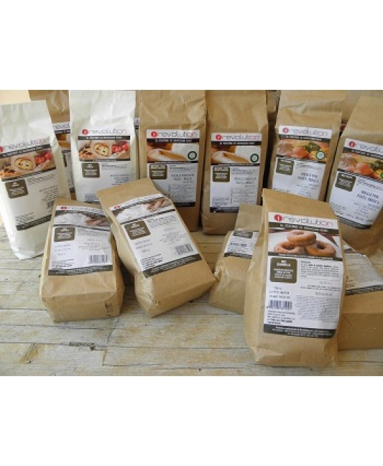 RevolutionFood Mix Rustico Preparato Per Pane Senza Glutine 500g - FARMAPRIME