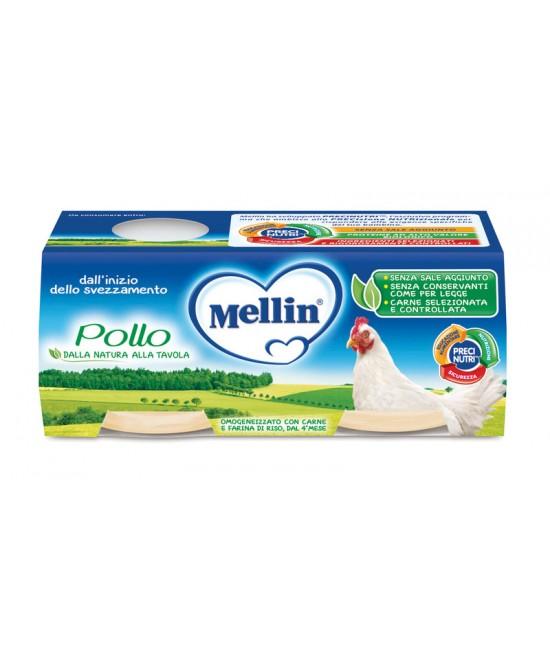MELLIN OMOGENEIZZATO POLLO 4X80 G - Farmaci.me