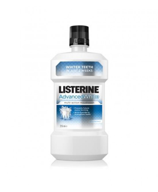 Listerine Advance White Collutorio Multiazione 250ml - Farmacistaclick
