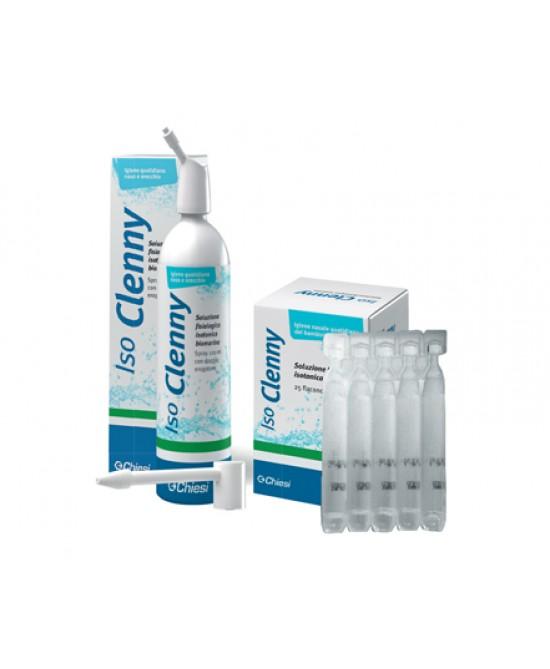 ISO CLENNY SOLUZIONE ISOTONICA MONODOSE 25 FLACONI 5 ML - Farmacia 33