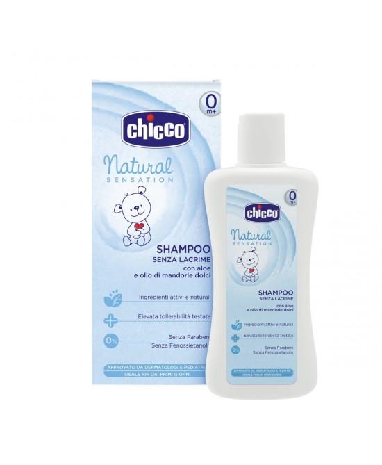 Chicco Natural Sensation Shampoo Senza Lacrime 200ml - Farmafamily.it