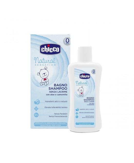 Chicco Natural Sensation Bagno Shampoo 200ml - Farmia.it