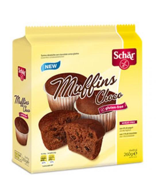 Schar Muffins Choco Senza Glutine 260g - Antica Farmacia Del Lago