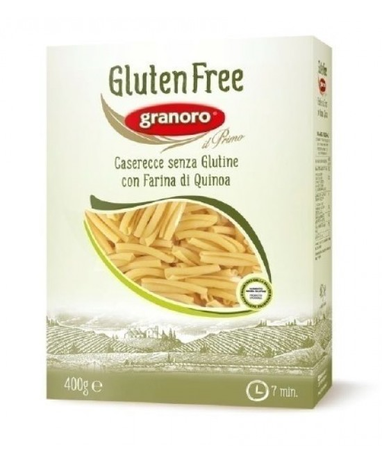 Gluten Free Granoro Caserecce Pasta Senza Glutine 400g - FARMAPRIME