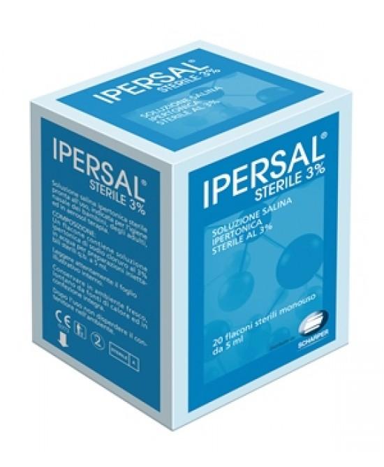 Ipersal Sterile 3% 20flac 5ml - Farmacia Giotti