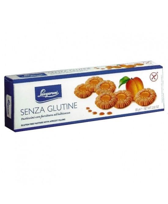 Lazzaroni Senza Glutine Pasticcini Albicocca 80g - FARMAPRIME
