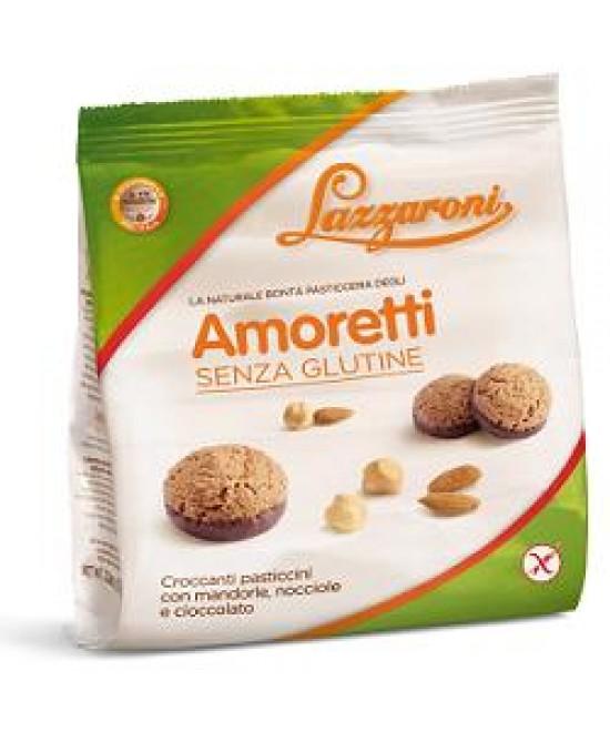 Lazzaroni Amoretti Pasticcini Mandorla  Nocciola Senza Glutine 110g - Farmawing