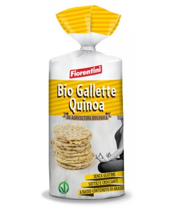 Fiorentini Bio Gallette Alla Quinoa Senza Glutine 120g -