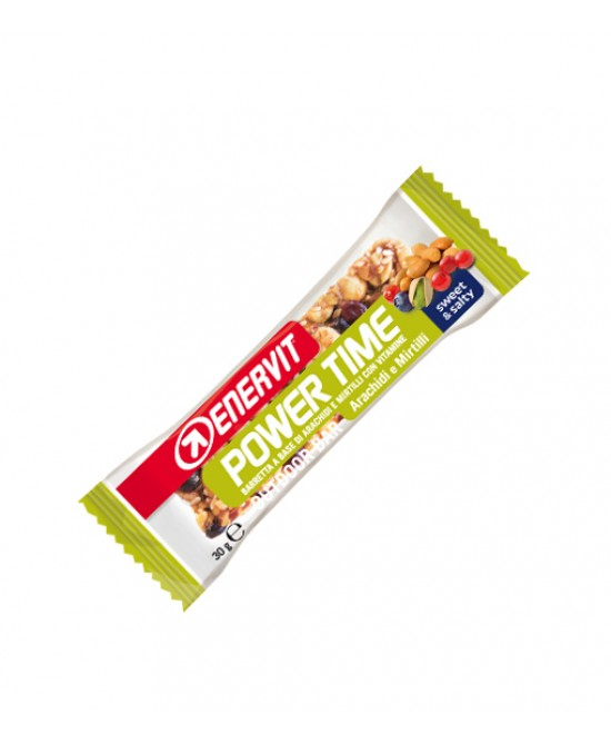 Enervit Power Time Barretta Gusto Arachidi E Mirtilli 30g - Farmabros.it