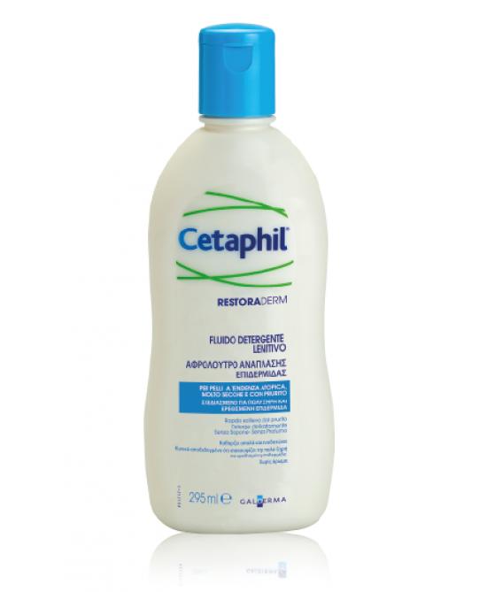 Cetaphil Restoraderm Fluido Detergente Lenitivo 295ml - Farmapage.it
