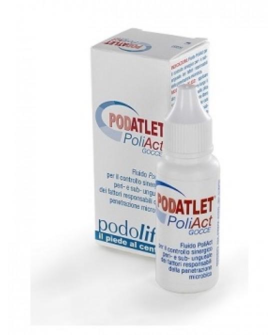 Podatlet Poliact Gocce Trattamento Unghie 15 ml