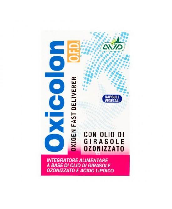 Oxicolon O.F.D Integratore Alimentare 20 Capsule - Farmastar.it