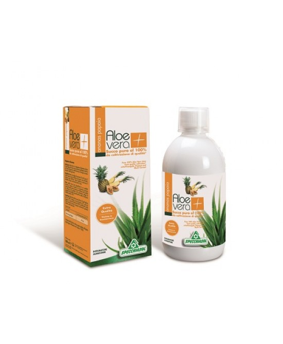 Succo Aloevera+ Anan/pap1000ml - FARMAEMPORIO