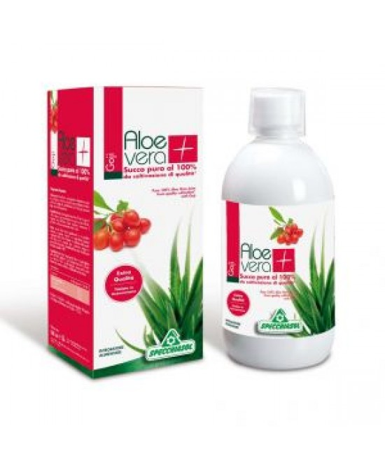 Succo Aloevera+ Goji Integratore Alimentare 1000ml -