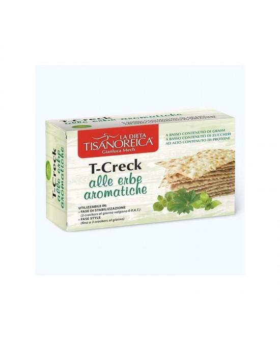 Tisanoreica Vita Style T-Creck Crackers Alle Erbe Aromatiche 100g (scadenza 05/2020) - Iltuobenessereonline.it
