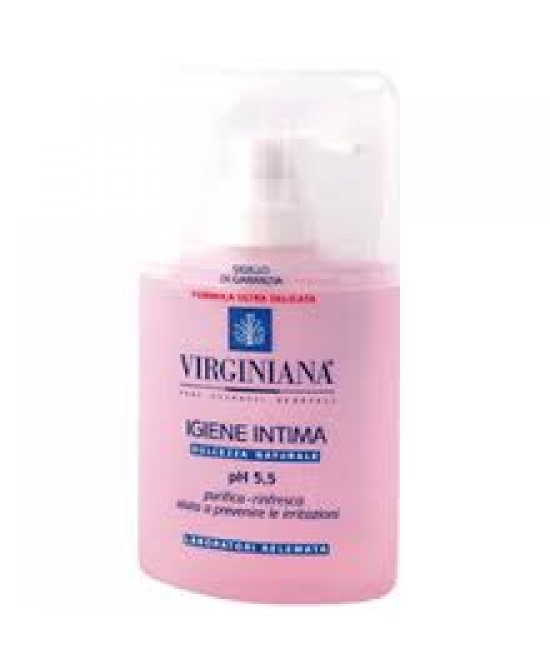 Virginiana Igiene Intima Detergente 200ml - Farmapage.it