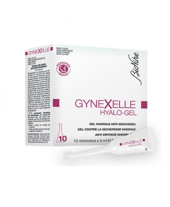 Bionike Gynexelle Hyalo-Gel Gel Vaginale Anti-Secchezza 10x5ml - Antica Farmacia Del Lago