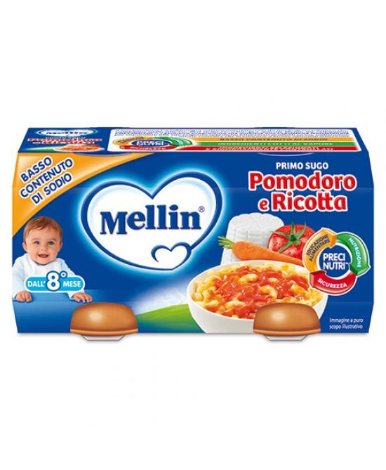 Mellin Primi Sughi Pomodoro E Ricotta 2x80g - Farmapage.it