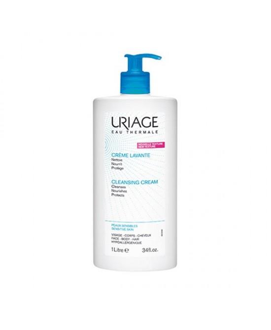 Uriage Crema Detergente Senza Sapone Per Viso Corpo E Capelli 1000ml - Farmafamily.it