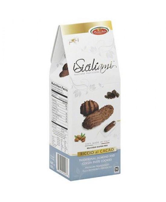iSiciliami Riccio al Cacao Pasticcini senza Glutine 125g