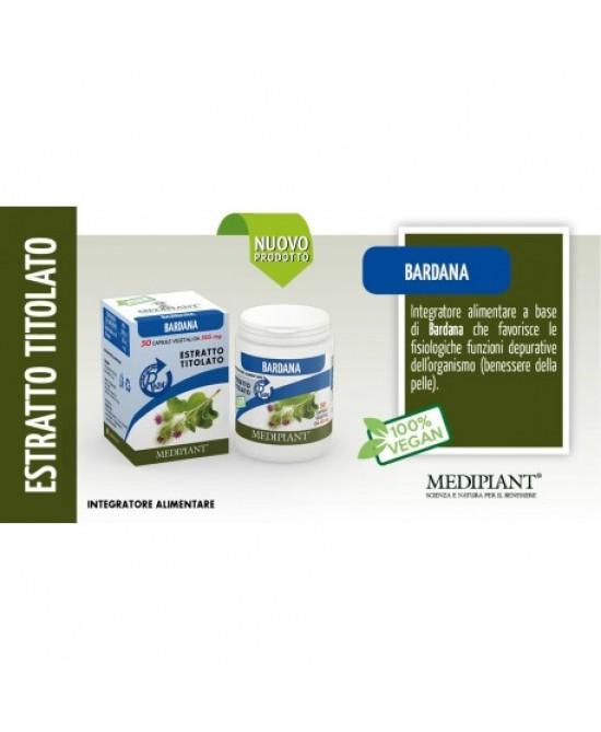 BARDANA 50 CAPSULE - Farmaseller