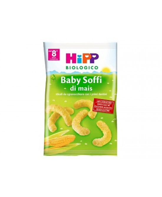 HiPP Biologico Baby Snack Soffi Di Mais 30g - Farmabros.it