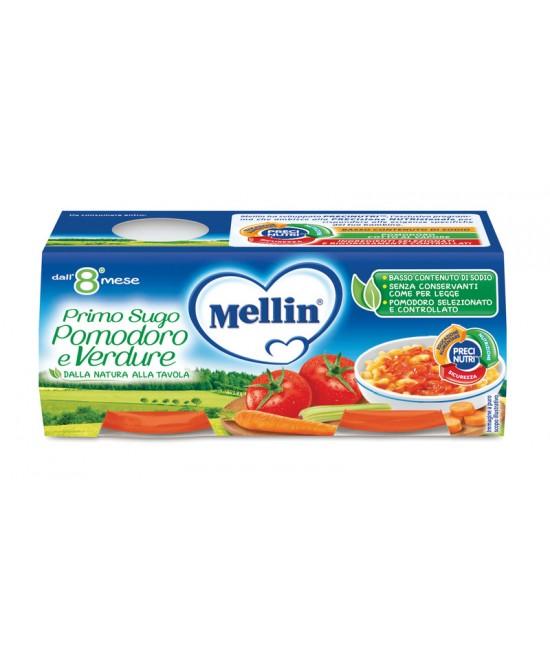 Mellin Primi Sughi Pomodore E Verdure 2x80g - Farmapage.it