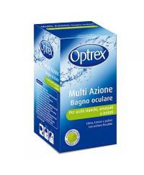 OPTREX MULTI AZIONE BAGNO OCULARE 110ML + OCCHIERA FLESSIBILE - Farmapage.it