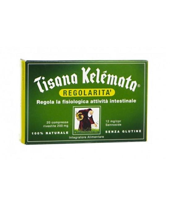 Kelemata Tisana Regolarita' Senza Glutine 20 Compresse - Farmastar.it