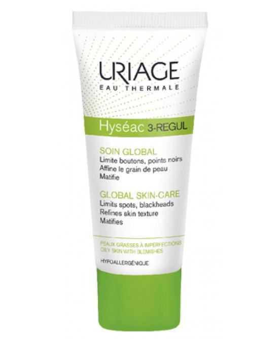 Uriage Hyséac 3-Regul Trattamento Globale Anti-imperfezioni Viso 40 ml