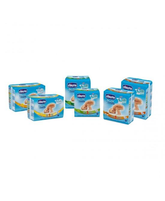 Chicco Pannolini Dryfit Advanced  Maxi 4  8-18Kg 19 Pezzi - Farmaci.me