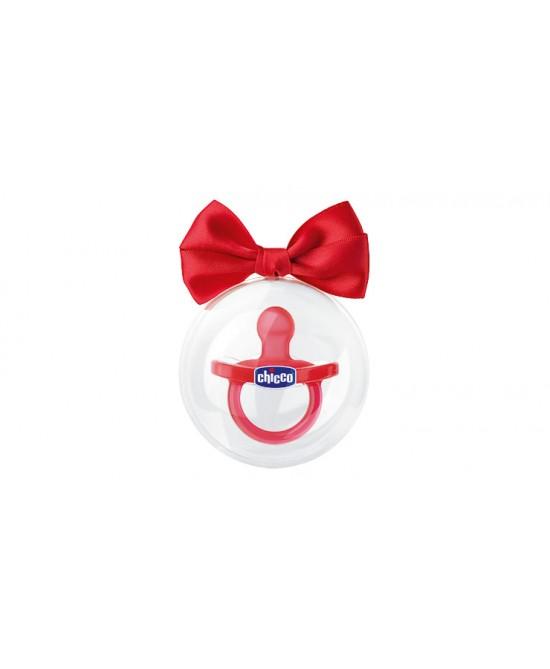 Chicco Physio Gommotto Silicone Colore Rosso +12Mesi - La tua farmacia online