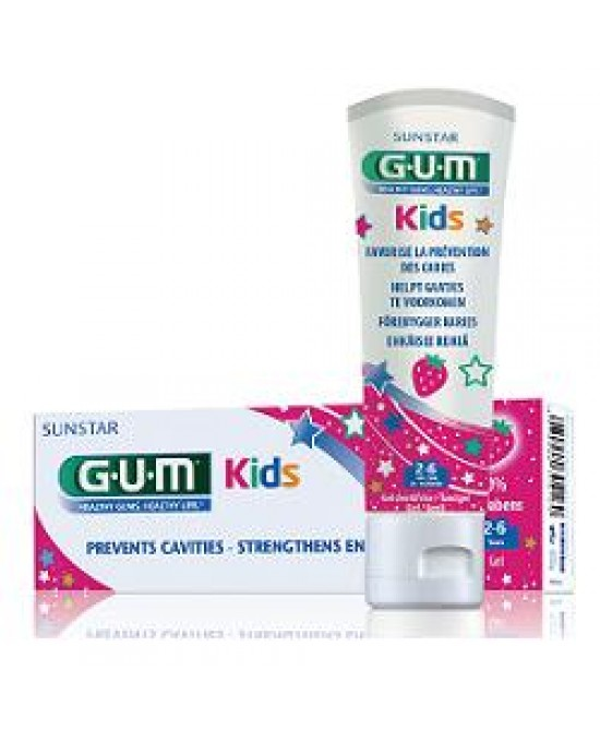 Gum Kids Dentif2/6fluor 500ppm - Farmapc.it