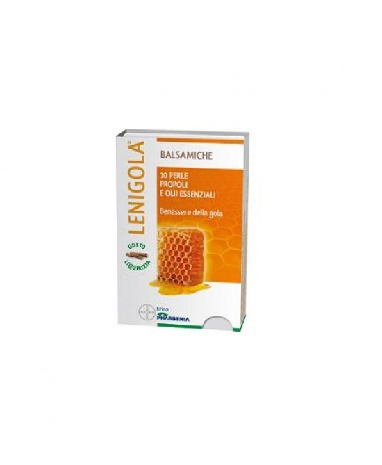 Lenigola Balsamiche Caramelle Gusto Liquirizia 20 Perle - Farmawing