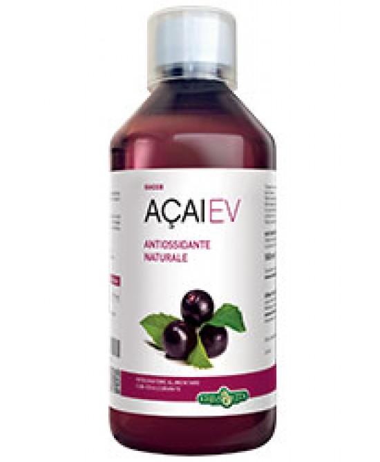 Erba Vita Açai-Ev Succo Integratore Antiossidante 500 ml