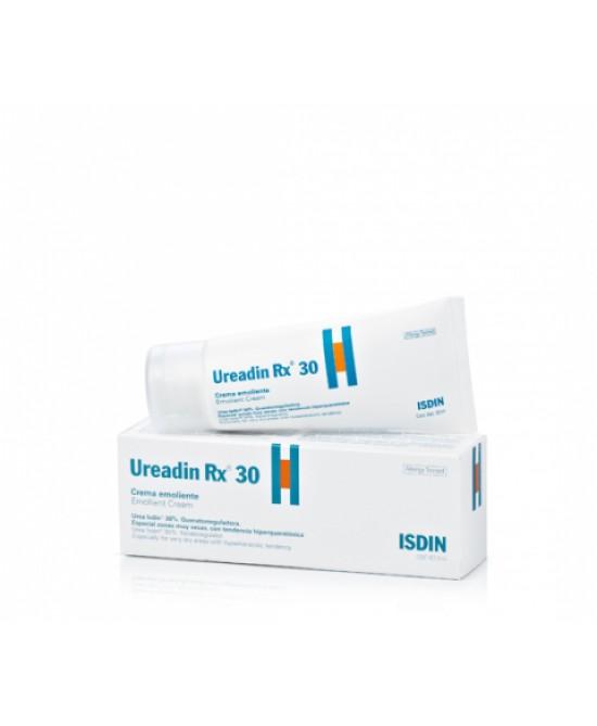 Isdin Ureadin Rx 30 Crema Emolliente Pelle Ispessita E Particolarmente Indurita 50ml - Farmacia 33