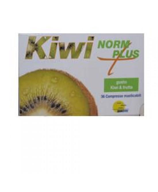 Kiwinorm Plus Integratore Gastrointestinale 36 Coompresse Masticabili