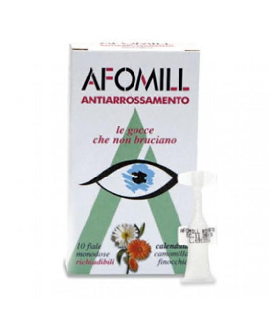 Afomill Antiarrossanmento 10 Flaconi Da 0,5ml - Farmafamily.it