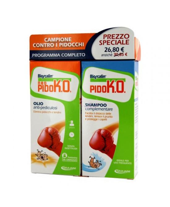 Bioscalin Neo Pido Ko Olio + Shampoo Antipidocchi - La farmacia digitale