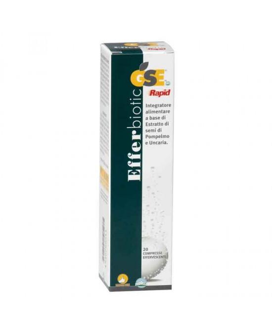 Prodeco Pharma Gse Efferbiotic Integratore Alimentare 20 Compresse Effervescenti - Farmacento