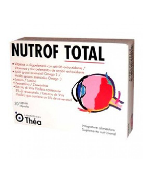 Nutrof Total 30cps - Farmaciasconti.it