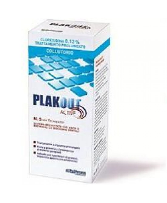Plakout Active Clor 0,12% 200 ml - Farmafamily.it