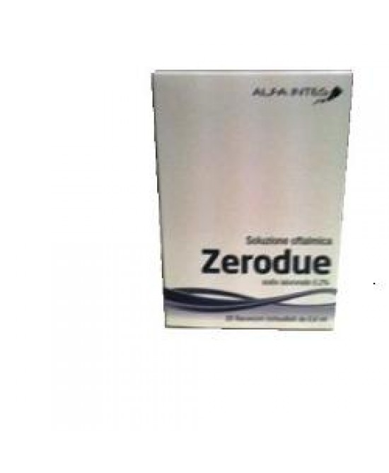 Zerodue Soluz Oftalmica 20fl - Farmafamily.it