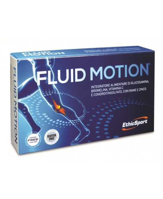 EthicSport  Fluid Motion Integratori per Cartilagini ed Articolazioni