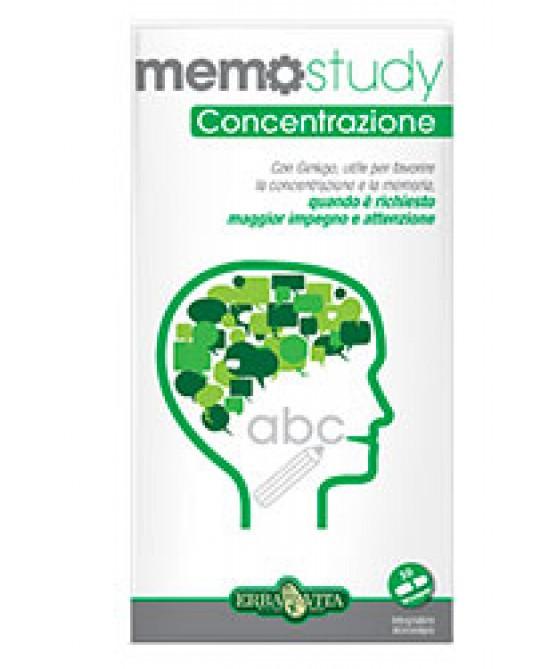 ErbaVita Linea Memo Memo Study Integratore Alimentare 30 Capsule - La farmacia digitale